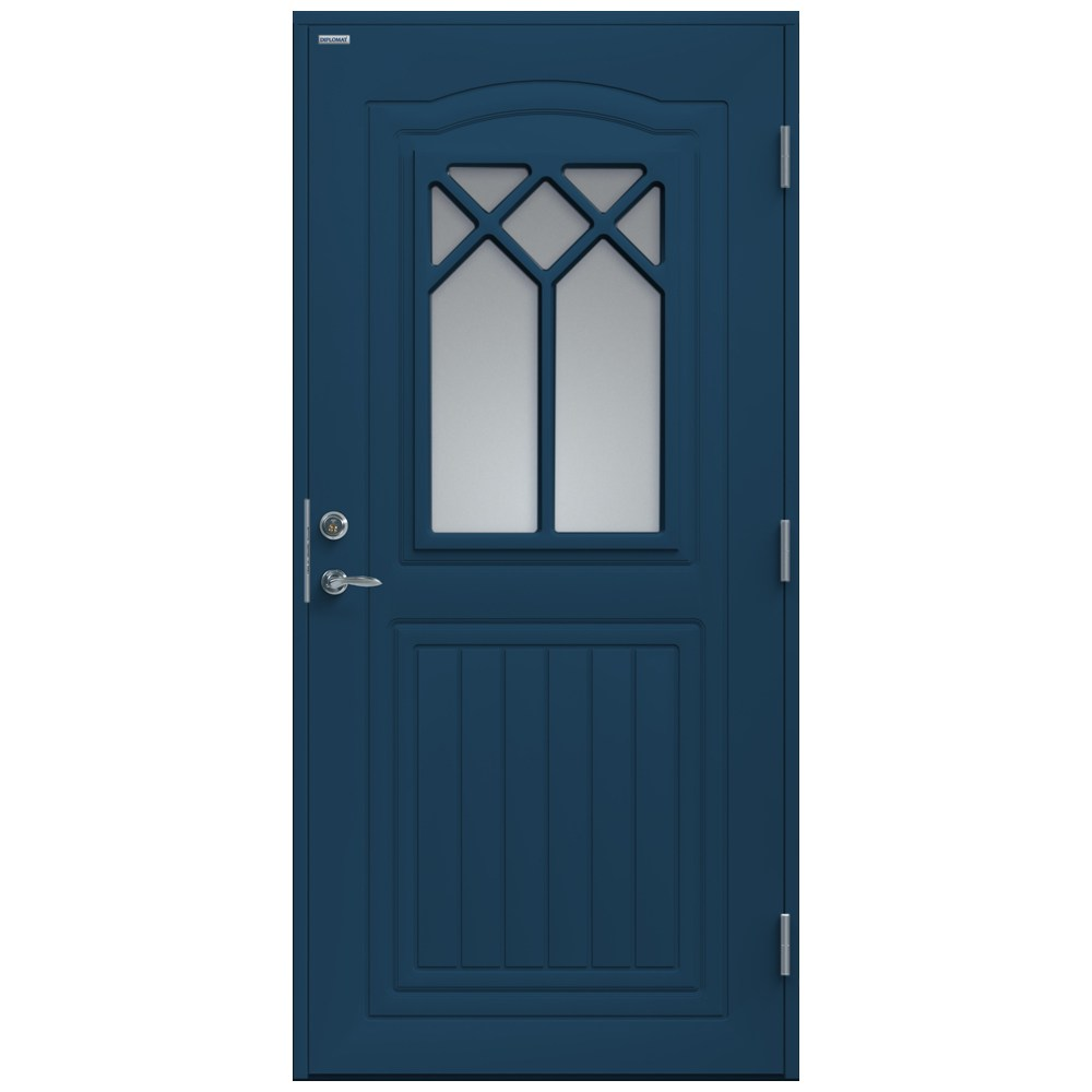 Ytterdörr diplomat linnea klarglas   enkeldörrar   ytterdörrar ...